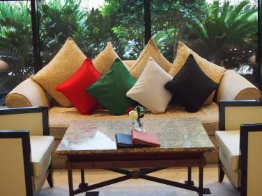 Inside Royal Meridien Resort & Spa.