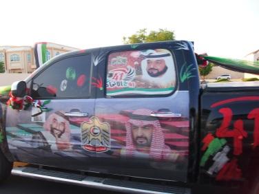 A patriotic car!