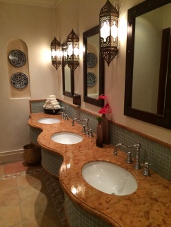 Bathrooms are also a part of the total package!